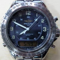 Breitling Intruder Aeromarine Chrono Alarm Day Date