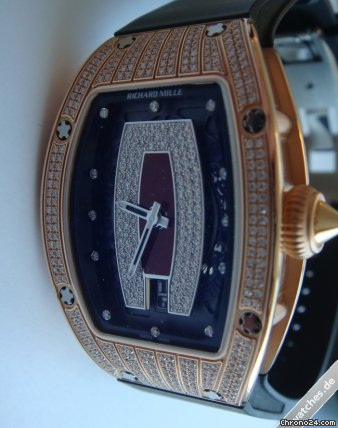 Richard Mille RM 007 PG - RM007 Red Dial/Bezel Diamonds