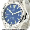 Omega Seamaster 300m Chronometer Blue Wave Dial 2065.80.00
