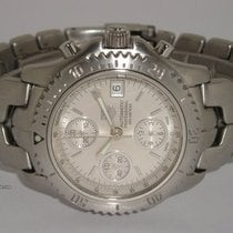 "TAG Heuer ""Link Chronograph Automatic"" Silber dail"