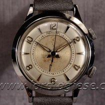 Jaeger-LeCoultre Memovox Vintage Steel Watch Cal. K 814...