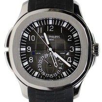 Patek Philippe 5164A-001 Aquanaut 40.8mm Black Embossed Arabic...