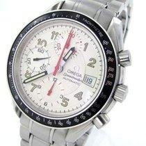 Omega Speedmaster Chronograph Automatik Herrenuhr Stahl Datum