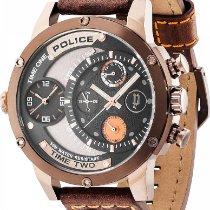 Police ADDER PL.14536JSBN/02 Herrenchronograph Massiv gearbeitet