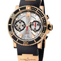 Ulysse Nardin Maxi Marine Diver Chronograph in Rose Gold