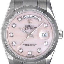 Rolex President Day-Date Men's Watch Cacholong Dial 118209...