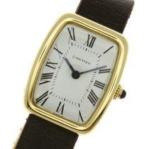 Cartier Paris 18k Vintage Tortue Manuel Wind Watch 1970's La
