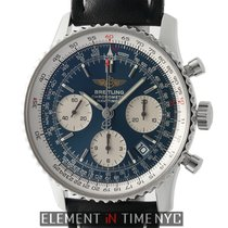 Breitling Navitimer Chronograph  Stainless Steel 42mm Blue...