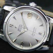 Omega Seamaster Turler Calendar Automatic Date Vintage Steel...