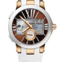 Ulysse Nardin Executive Dual Time 18K Rose Gold & Ceramic...