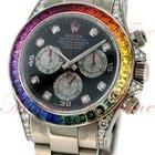 Rolex Oyster Perpetual Cosmograph Daytona Rainbow, Black Dial...