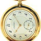A. Lange & Söhne A  14k pocketwatch