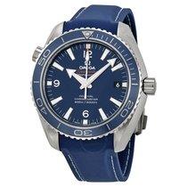 Omega Planet Ocean Titanium Co-Axial Blue Dial Men's Watch