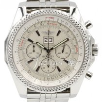 Breitling Bentley 6.75 A44362 Men's 48mm White Index...