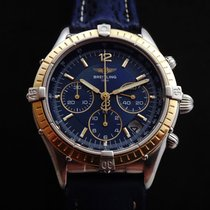 Breitling Medium Chronograph Steel & Gold