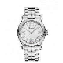 Chopard Ladies 278582-3002 Happy Sport  5-Diamonds Watch