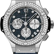 Hublot Big Bang Glossy Jeans Diamonds 341.SX.2710.NR.1104.JEANS14