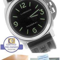 Panerai PAM 112 44mm Luminor Marina Stainless Manual Watch...