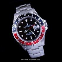 Rolex GMT-Master II Black & Red Coke Bezel Stainless Steel