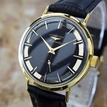 Longines Swiss Made 1960 Men's Automatic Gold Plated Dress...
