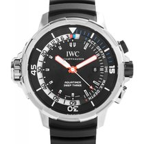 IWC Schaffhausen IW355701 Aquatimer Deep Three Black Index...