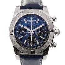 Breitling Chronomat 44 Blue Dial Chronograph