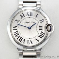 Cartier BALLON BLEU MEDIUM 36 mm EDELSTAHL W69011Z4
