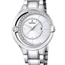 Festina F16947/1 Trend Damenuhr silber 33mm 5ATM