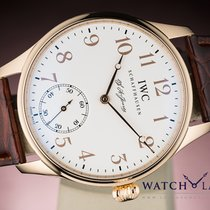 IWC PORTUGUESE F.A. JONES LIMITED EDITION ROSE GOLD BOX &...