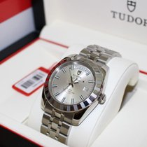 帝陀 (Tudor) Glamour date+day ref:23010 rotor self winding 100m...