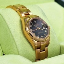 Rolex President 179165 New Style 18k Rose Gold Datejust Oyster...
