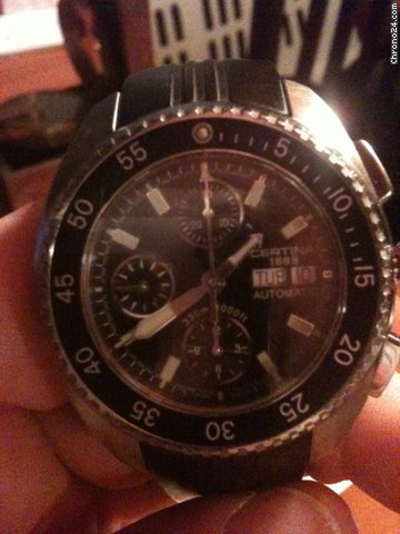 Certina DS3 Chrono 1000ft