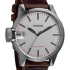 Nixon Chronicle A-127-1113 Silver Brown Herrenuhr