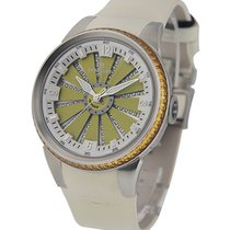Perrelet Turbine XS Ladies 41mm Automatic with Citrine Bezel