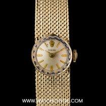 Rolex 18k & 14k Y/Gold Silver Dial Rare Chameleon Vintage...
