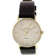 Movado Men's Vintage Movado Kingmatic 14K Yellow Gold Watch