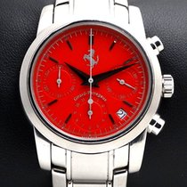Girard Perregaux Ferrari Chronograph, ref.8020, Red Dial
