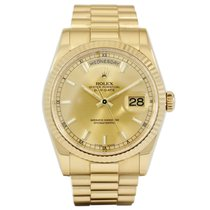 Rolex Day Date Yellow Gold 118238