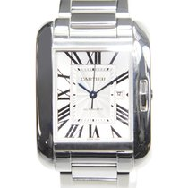 Cartier Tank 18k Platinum Silvery White Automatic W5310025