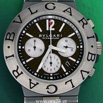 Bulgari Diagono Automatic 44mm Titanium Chronograph B&P