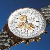 Breitling Navitimer Heritage K35340 Gelbgold 750 18k &...