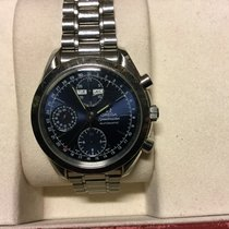 Omega Speedmaster tripple date  automatic blue dial