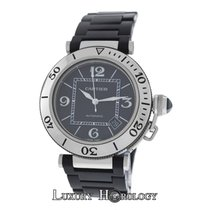 Cartier Mint Men's Pasha Seatimer 2790 Steel & Rubber...