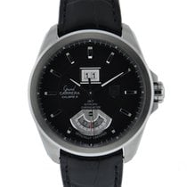 TAG Heuer Grand Carrera 8rs Gmt Large Date Stainless Steel...