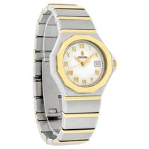 Concord Mariner Sg 500 Ladies Ss/18K Swiss Quartz Watch
