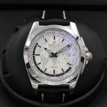 Breitling Galactic - Unitime - WB3510 - White Dial - MINT -...