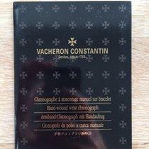 Vacheron Constantin Manual for Les Historique Chronograph