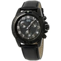 Victorinox Swiss Army Wenger  Military Black Dial Black...