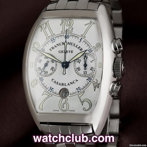 Franck Muller Casablanca Chronograph - Steel Chronograph