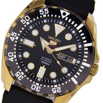 Seiko SRP608J1 MM Gold Tone Sport 5 100M Diver